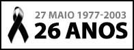 27 de Maio - 26 anos
