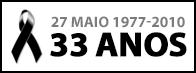 27 de Maio - 33 anos