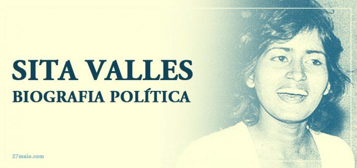 Sita Valles – Biografia Política