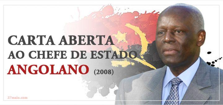 Carta Aberta ao Chefe de Estado Angolano