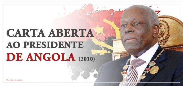 Carta aberta ao Presidente de Angola (2010)