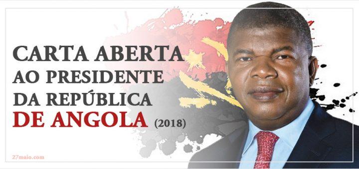 Carta aberta ao Presidente da República de Angola (2018)