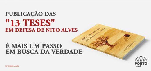 """Publicação das """"13 teses"""" em defesa de Nito Alves é mais um passo em busca da verdade"""