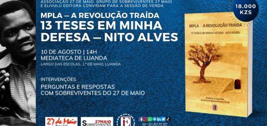 Sessão de Venda - A Revolução Traída - 13 Teses em Minha Defesa, de Nito Alves